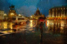 Fotógrafo registra imagens incríveisde cidades sob forte temporal |  Eduard Gordeev