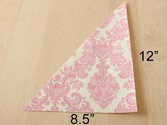 Super simples, super lindo, e super fácil de fazer!   Cone de papel estampado com balinhas dentro...o emblema da sociedade de socorro perso...
