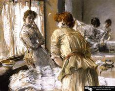 In the Laundry  Robert Frederick Blum