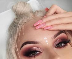 Image shared by . Find images and videos about makeup on… – ♛ Kendal Lavigne ♛ Image shared by . Find images and videos about makeup on… Image shared by . Find images and videos about makeup on We Heart It – the app to get lost in what you love. Boho Makeup, Rave Makeup, Hippie Makeup, Makeup Art, Glitter Makeup Looks, Makeup Eye Looks, Unicorn Makeup, Mermaid Makeup, Fairy Makeup