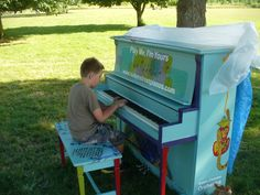 Play Me, I'm Yours is in Salem! https://www.facebook.com/SalemStreetPianos This is at the Minto Brown Island Dog Park; piano decorated by the Willamette Valley Humane Society.