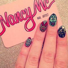 transylvania halloween by nancy_mc #nail #nails #nailart