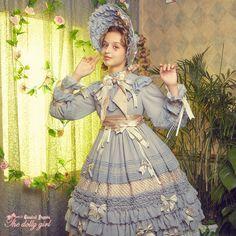 Classical puppets *The dolly girl version Ⅰ* lolita op dress pre-order Gothic Lolita Dress, Gothic Lolita Fashion, Victorian Fashion, Lolita Style, Cute Dresses, Girls Dresses, Mode Lolita, Vintage Wardrobe, Online Dress Shopping