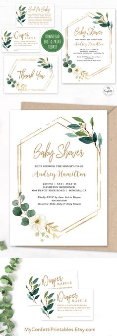 Information, tips and hacks for baby shower checklist! Be sure the correct one to shoot your baby shower is experienced.You might not need to have someone taking baby shower photographer that you are currently not meet your high standards. Baby Shower Verde, Shower Bebe, Girl Shower, Baby Shower Boys, Baby Shower Invites For Girl, Baby Shower Brunch, Boho Baby Shower, Gender Neutral Baby Shower, Shower Party