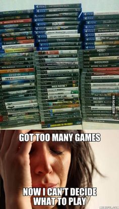 Most gamer problem.. anyone else shares the same feeling?