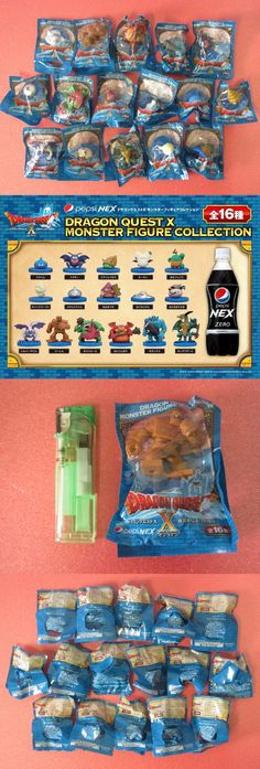 collectibles: PEPSI Dragon Quest X Monster FIGURE Collection Complete set of 16 pcs NEW BUY IT NOW ONLY: $47.99 #priceabatecollectibles OR #priceabate