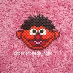 Ernie - Sesame Street perler beads by perlerbeads_holic