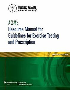 Se es membro da Universidade de Vigo podes solicitalo a través desta páxina http://www.biblioteca.uvigo.es/biblioteca_gl/servizos/coleccions/adquisicions/ ACSM'S Resource manual for guidelines for exercise testing and prescription. - LIPPINCOTT. - 2013. - 54€ (Axon)