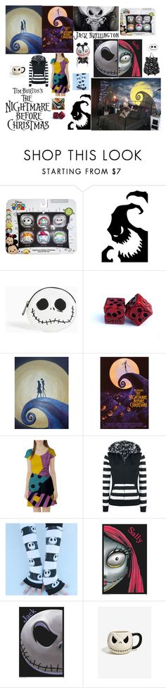 """""""Tim Burton's Nightmare Before Christmas"""" by queenharley666 ❤ liked on Polyvore featuring Disney, Torrid and Victoria's Secret"""