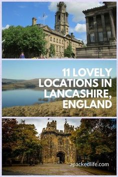 11 Lovely Locations In Lancashire England From wild wetlands to seaside fun, ballrooms, a castle with a dark past, docks and cities built on cotton. #Lancashire #VisitLancashire #England