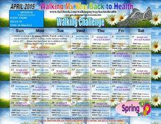April's walking challenge