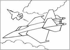 Скачать распечатать рисунки с самолетами для мальчиков