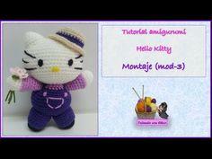 Tutorial amigurumi Hello Kitty - Montaje (mod-3)
