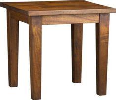 #Crateandbarrel           #table                    #Basque #Honey #Side #Table                         Basque Honey Side Table                             http://www.seapai.com/product.aspx?PID=321999
