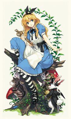 Alice no Pais das Maravilhas Wallpapers - Alice in Wonderland Wallpapers - Alice Wallpapers - Planos - - Anime Yugioh, Anime Pokemon, Anime Plus, Anime W, Alice Liddell, Art Disney, Disney Kunst, Alice Disney, Alice Manga