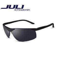 72be6f789ee7 JULI Polaroid Sunglasses Men Polarized Driving Sun Glasses Mens Sunglasses  Brand Designer Fashion Oculos Male Sunglasses