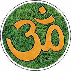 This is the most important symbol in Hinduism.  It's Aum (Om) and it represents Brahman and it's the sound of the universe.