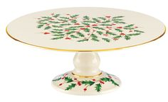 Holiday Footed Cake Stand                                                       …