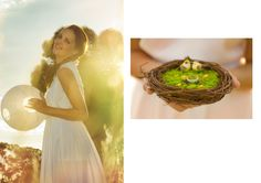 Editorial Shoot of JloveS Signature Ring Bearer ,     nid d'oiseau