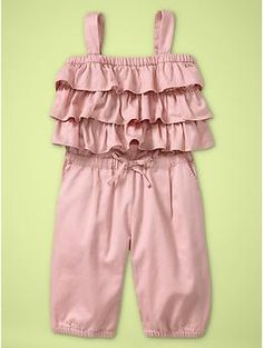 So cute - love anything with ruffles