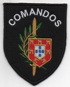 PORTUGAL PORTUGUESE ELITE SPECIAL FORCES COMANDOS COMMANDOS PATCH
