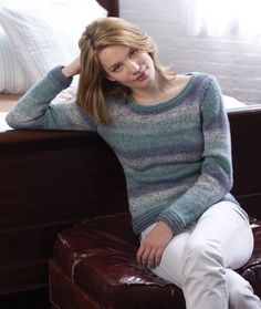 Easy-Weekend Pullover, free pattern