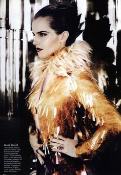 Vogue Editorial Emma's New Day, July 2011 Shot #2