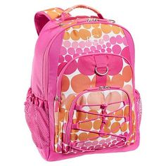 Gear-Up Pink Ombre Dot Backpack #potterybarnteen