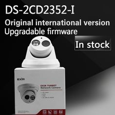 125.00$  Know more - http://ai2l2.worlditems.win/all/product.php?id=32664247031 - In stock DHL Free shipping DS-2CD2352-I replace DS-2CD2355-I English version 5MP WDR EXIR turret network ip security POE camera