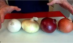With all the different types of onions out there, it's hard to know what's what! Picking out the wrong type of onion could be the difference between a masterpiece of a meal, and a complete nightmare. Luckily, silly Chef Buck is here to guide us Types Of Onions, Salud Natural, Your Recipe, Popular Recipes, Ww Recipes, Onion Recipes, Recipies, Food Hacks, Guacamole