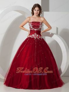 T tahari red dress quinceanera
