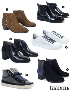 37c00bca523 Chaussures André automne-hiver 2016-2017 – Taaora – Blog Mode