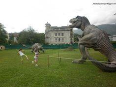 Una exposición de dinosaurios a tamaño real en Llanes.