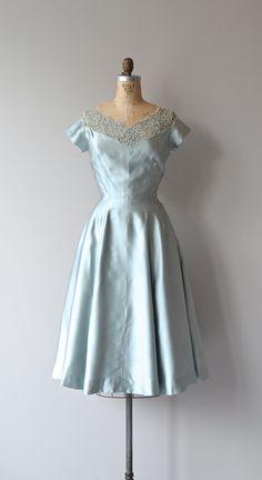 Cloud Veil dress vintage 1950s dress lace 50s by DearGolden