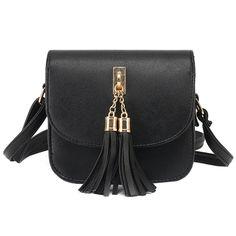 66f4a5fcfb2a 2017 Fashion Small Bag Candy Color Tassel Women Messenger Bags Female Handbag  Shoulder Bag Women Clutch
