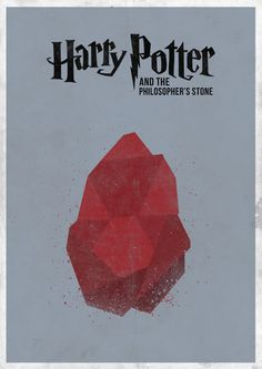 Harry Potter and the Sorcerer's Stone minimal movie poster