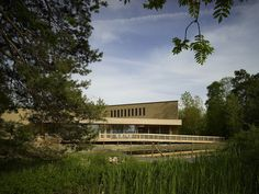 Visitor Centre at the Swiss Ornithological Institute / :mlzd