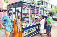 SOY BIBLIOTECARIO: La biblioteca móvil de India para fomentar la alfa...