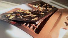 Cukormentes házi étcsokoládé (mogyorós-mazsolás)