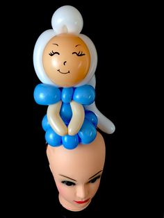 Elsa - Frozen - Balloon Headband - Balloon Twisting - Party Pop Balloons