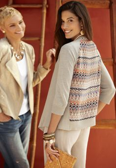 Haute new ways to top off your look. #DestinationFabulous #travel #summer #chicos