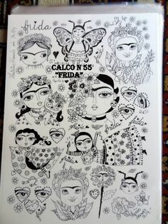 K Crafts, Arts And Crafts, Adult Coloring Pages, Coloring Books, Hispanic Art, Arts Ed, Pencil Art Drawings, Arte Pop, Mexican Art