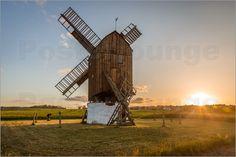 Christian Müringer - Alte Windmühle auf Bornholm (Dänemark)