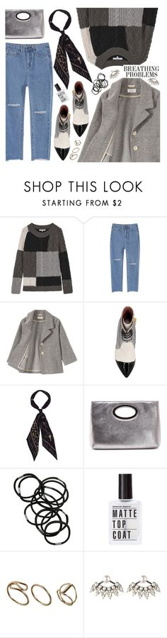 """""""grey look"""" by valentino-lover ❤ liked on Polyvore featuring Gérard Darel, Bally, Rockins, Donald J Pliner, Monki and DANNIJO"""