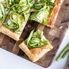 Potato Asparagus Tart Recipe by Tasty