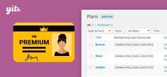 WordPress Woocomerce: YITH WooCommerce Membership Premium 1.2.9 Extensio...