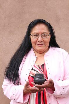 Potter Dolores Curran (Santa Clara Pueblo) Native American Artists, Santa Clara, Women, Fashion, Moda, Women's, Fashion Styles, Woman, Fasion