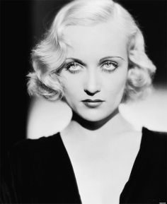 Carole Lombard; one of the highest paid stars in Hollywood in the 1930's. At the age of 33 she died in a airplane crash while returning from a World War II Bond Tour.