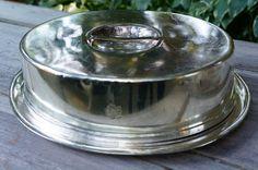Canadian National Dining Car Silver Covered Serving Platter Serving Platters, Dog Bowls, Restaurant, Decorating, Dining, Car, Silver, Decor, Serving Dishes