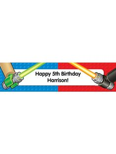 Space Toys Personalized Banner